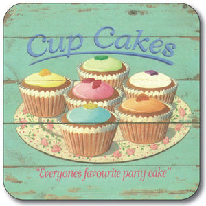 Cup Cakes  Coaster<br>(Pack of 10)