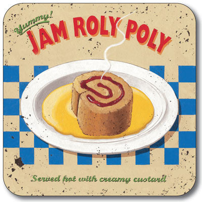 Jam Roly Poly  Coaster<br>(Pack of 10)