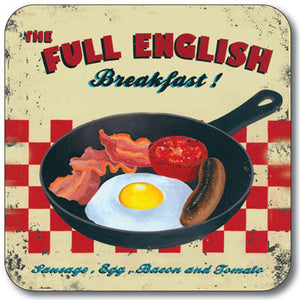 Full English Breakfast  Coaster<br>(Pack of 10)