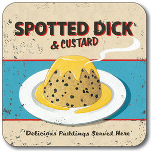 Spotted Dick  Coaster<br>(Pack of 10)