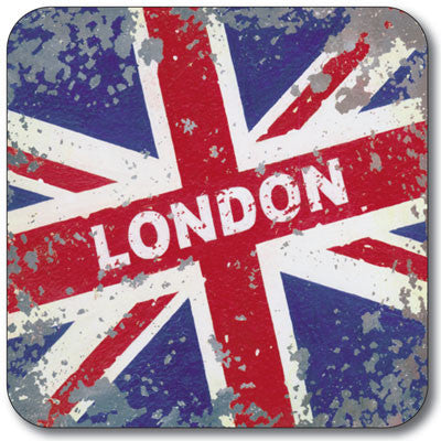 London Union Jack  Coaster<br>(Pack of 10)