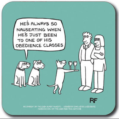Obedience classes Coaster<br>(Pack of 10)
