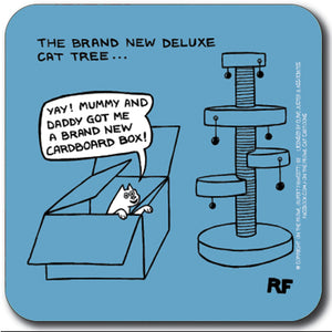 The brand new deluxe cat tree Coaster<br>(Pack of 10)