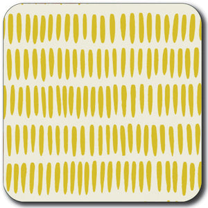 Yellow Grain Rice  Coaster<br>(Pack of 10)
