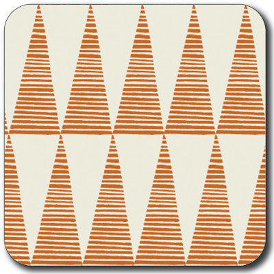 Orange Tall Triangles Coaster<br>(Pack of 10)