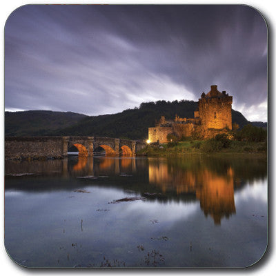 Eilean Donan at Night Coaster<br>(Pack of 10)