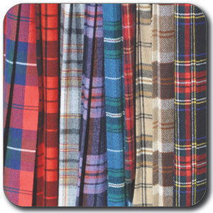 Tartan Coaster<br>(Pack of 10)