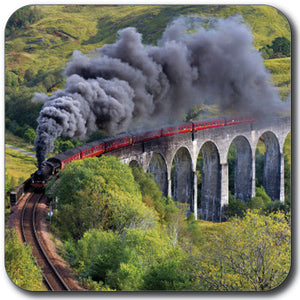 Steam Train Coaster<br>(Pack of 10)