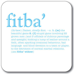 Fitba  Coaster<br>(Pack of 10)