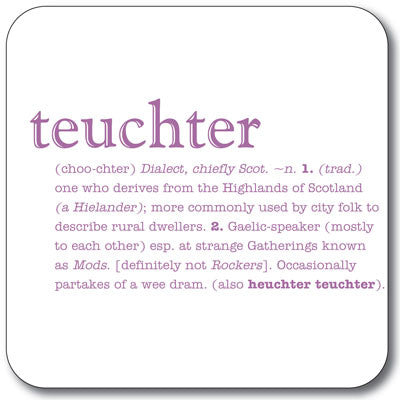 Teuchter  Coaster<br>(Pack of 10)