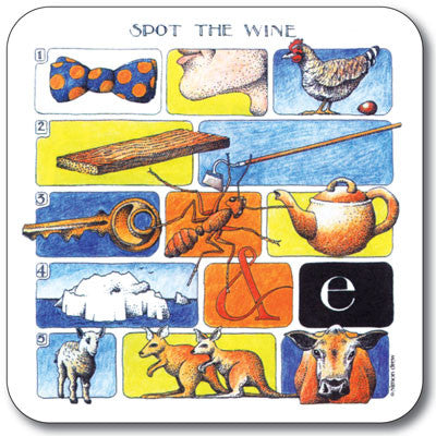 Spot the - Win Coaster<br>(Pack of 10)