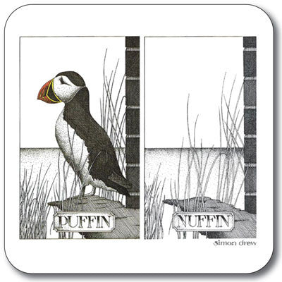 Puffin Nuffin  Coaster<br>(Pack of 10)