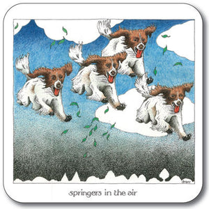 Springers in the Air  Coaster<br>(Pack of 10)