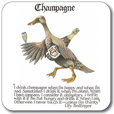Champagne  Coaster<br>(Pack of 10)