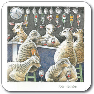 Bar Lambs Coaster<br>(Pack of 10)