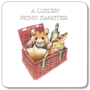 Picnic Hamster Coaster<br>(Pack of 10)