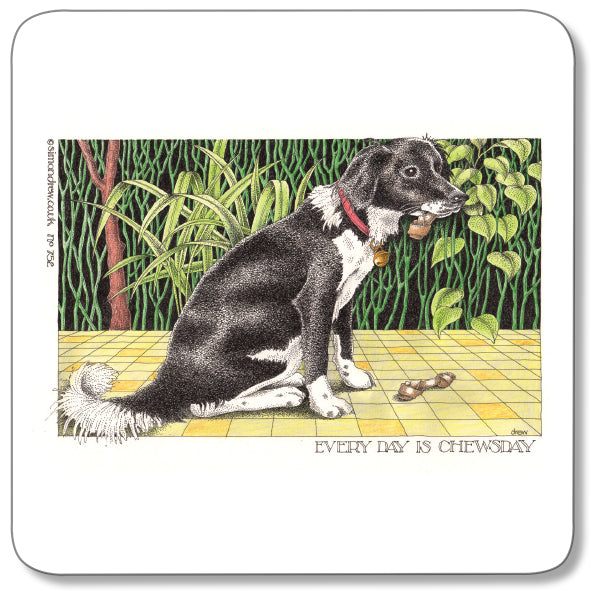 Chewsday Coaster<br>(Pack of 10)