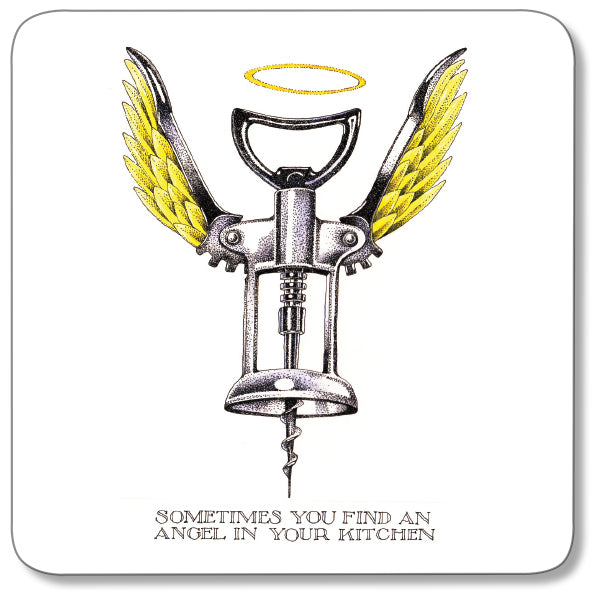 Kitchen Angel Coaster<br>(Pack of 10)