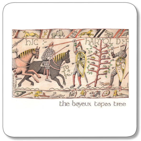 The Bayeus Tapas Tree Coaster<br>(Pack of 10)