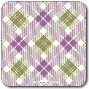 Diamond Tartan  Coaster<br>(Pack of 10)