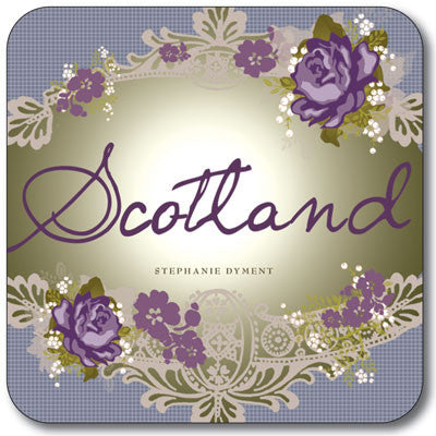 Scotland Floral  Coaster<br>(Pack of 10)