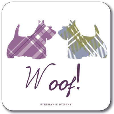 Woof  Coaster<br>(Pack of 10)