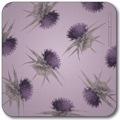 Multi Thistle  Coaster<br>(Pack of 10)