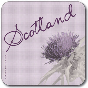 Scotland Thistle  Coaster<br>(Pack of 10)