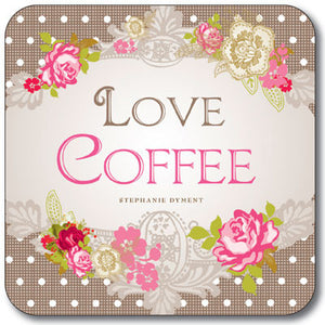 Love Coffee  Coaster<br>(Pack of 10)