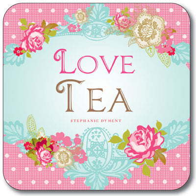 Love Tea  Coaster<br>(Pack of 10)