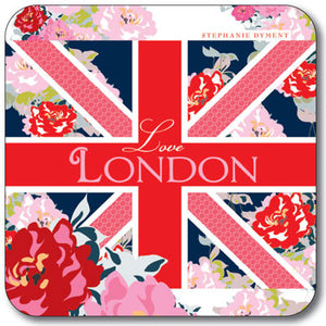 Union Jack Love London  Coaster<br>(Pack of 10)