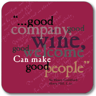 Good Company Coaster<br>(Pack of 10)