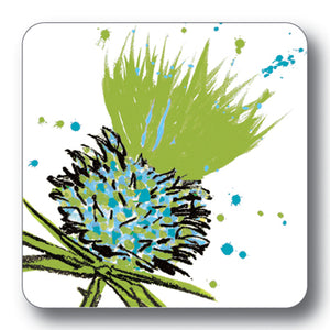 Green Thistle Coaster<br>(Pack of 10)