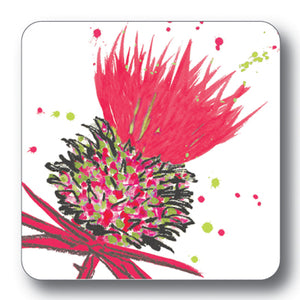 Red Thistle Coaster<br>(Pack of 10)