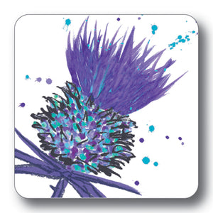 Purple Thistle Coaster<br>(Pack of 10)