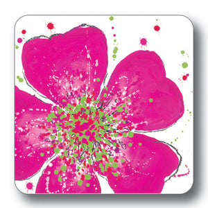 Pink Rose Coaster<br>(Pack of 10)