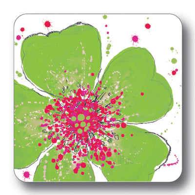 Green Rose Coaster<br>(Pack of 10)