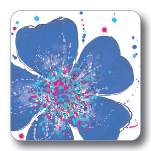 Dark Blue Rose Coaster<br>(Pack of 10)