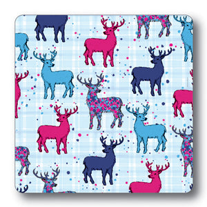 Stag Repeat Coaster<br>(Pack of 10)