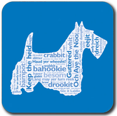 Scottie Dog Coaster<br>(Pack of 10)
