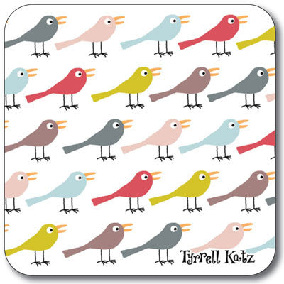 Birds Coaster<br>(Pack of 10)