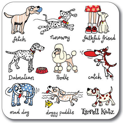 Dogs Coaster<br>(Pack of 10)