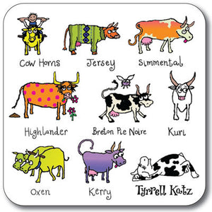 Cows  Coaster<br>(Pack of 10)