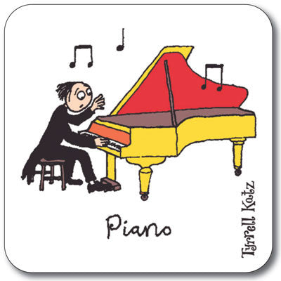 Piano  Coaster<br>(Pack of 10)