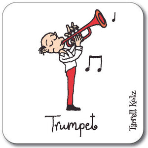 Trumpet  Coaster<br>(Pack of 10)