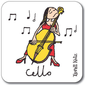 Cello  Coaster<br>(Pack of 10)