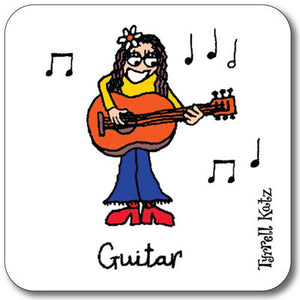 Guitar  Coaster<br>(Pack of 10)