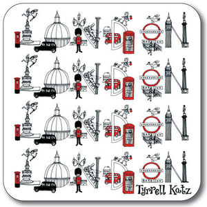 London Scenes  Coaster<br>(Pack of 10)