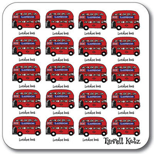 London Small Buses Coaster<br>(Pack of 10)