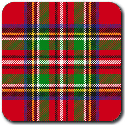 Tartan 2 Coaster<br>(Pack of 10)